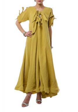 Mustard Vibrant Dress