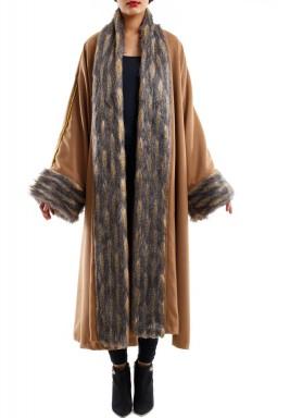 St Petersbourg camel brown bisht