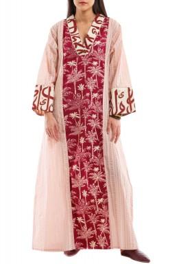Pink Nakhla Kaftan