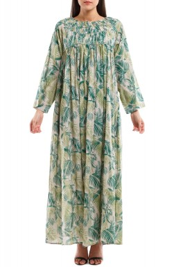 Green Forest Kaftan