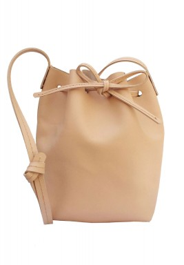 The Bucket Melba Leather Bag