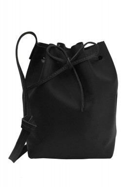 The Bucket Black Bag