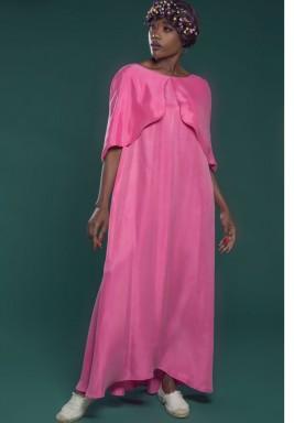 FullLength Kaftan Pink