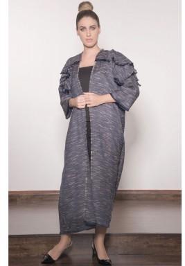 Layered Abaya
