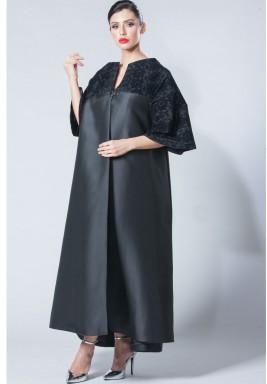 High Collar Abaya