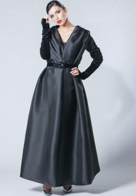 Velvet Sleeve Abaya
