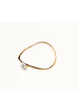 Pave Ring -White Diamond