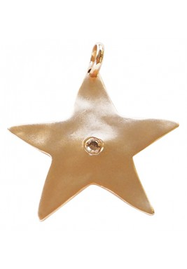 Big Star Locket With Diamond