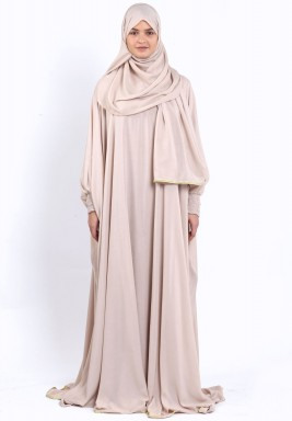 Beige Prayer dress
