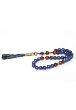 Antiquity in Lapis Prayer beads For Man