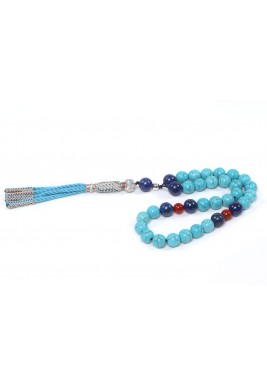 Strengh of Turquoise Prayer beads For Man