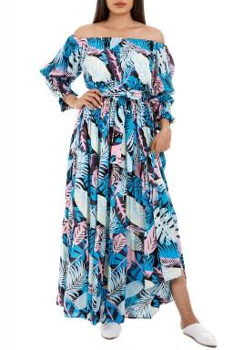 Sunset Palms dress