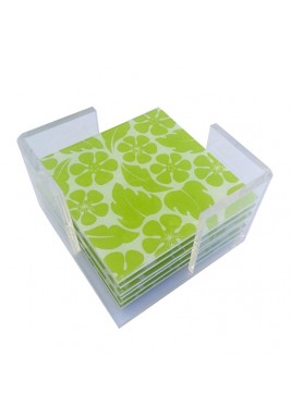 Odette Coasters - Lime Green
