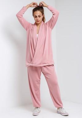 Baby Pink Loungewear Top