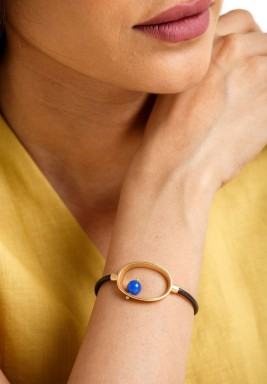 Blue eye magnet bracelet