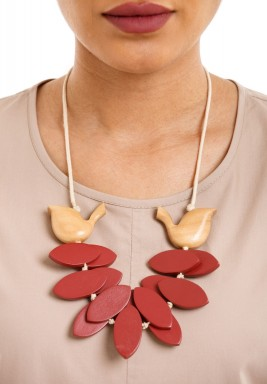 Goose Garden Necklace