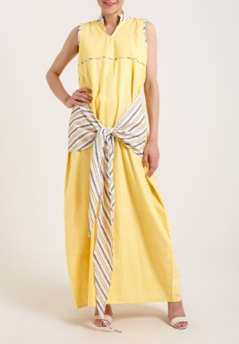 Striped Yellow Bisht