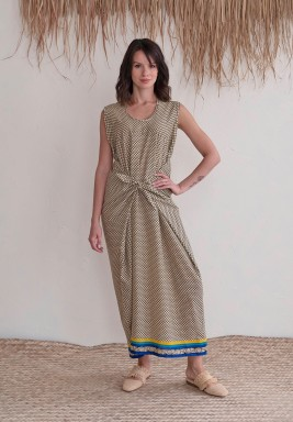 Bliss Printed Maxi Dress