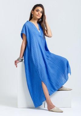 blue kaftan