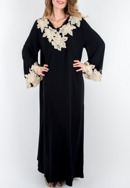 Magnolia Black Gold Dress