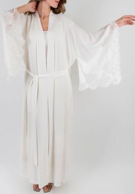 White Kimono Set