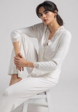 Cotton Pyjama set sunkissed ecru