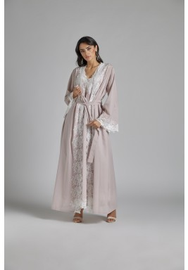 Cotton Vual Powder Robe Set