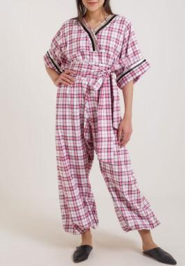 Comfy pink jumpsuit