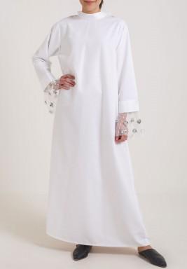 V lace dress