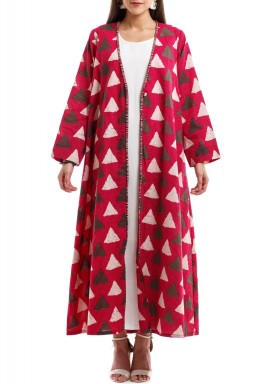 Cheery bisht & dress