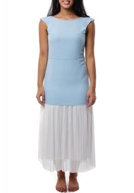 Mira Summer Maxi Dress Baby Blue