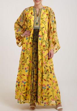 Royal Yellow Kaftan