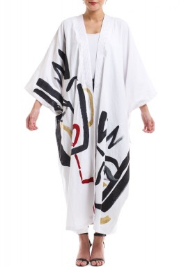 Hand painting face bisht