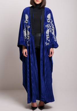 Royal Blue Bisht