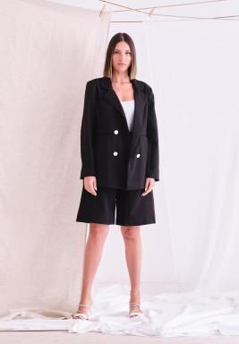 Black Blazer & Shorts