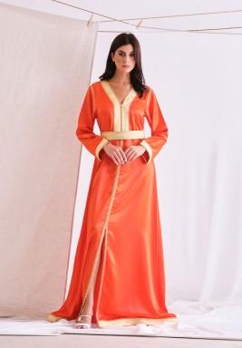 Orange Kaftan Lwiza