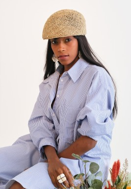 Summer Salt Sea Grass Hat
