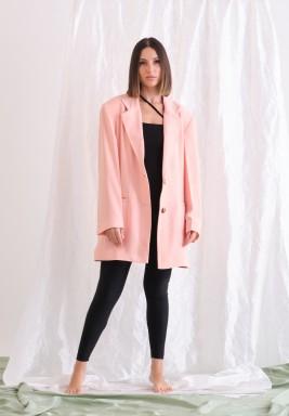 Oversized Pink Blazer