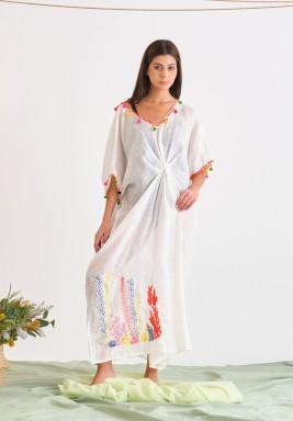 White Linen Cover-Up
