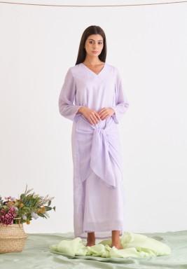 Purple Knot Dress