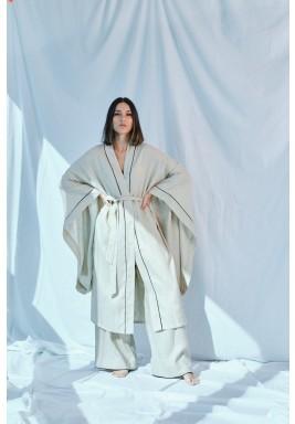 Beige Haus Robe