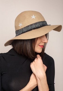 Silver Star  Hat