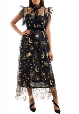 Celestial sparkled dress