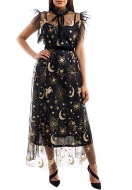 Celestial sparkled dress