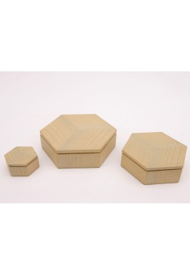 Nada Debs polygon oak boxes