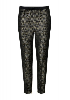 Memento Metallic Printed Pants