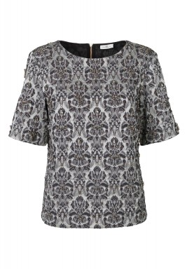 Bling baroque prints top