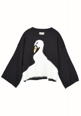 Swan dive knitwear