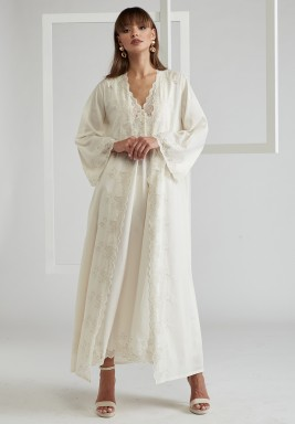 Cotton Voile Honey Robe Set