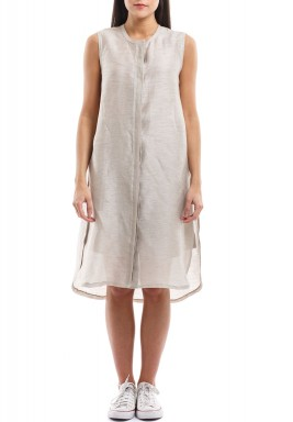 Amelida Beige Linen Shorts & Top